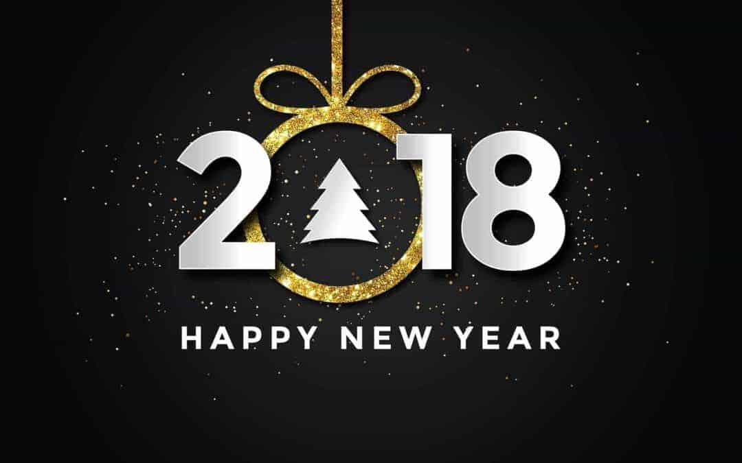 ¡Feliz 2018! Nuevo año, nueva visión
