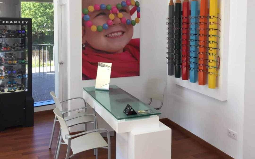 El rincón infantil de Óptica Andorrana