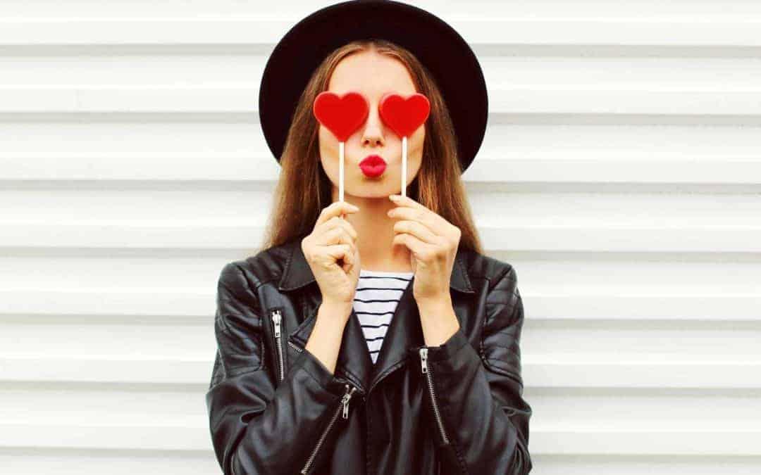 Por San Valentín, gafas que enamoran