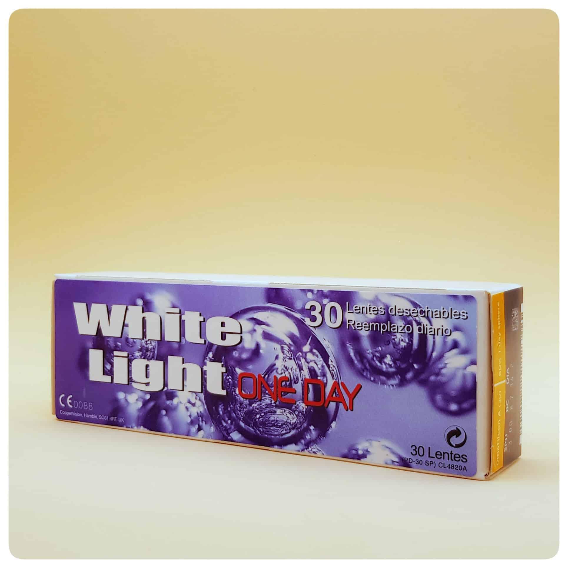 Lentillas White Light One Day