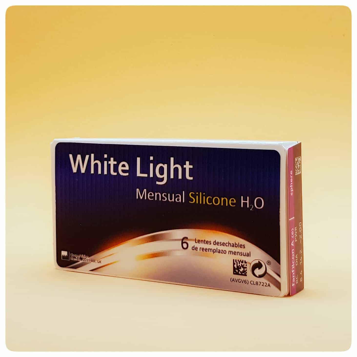 Lentillas White Light Silicone Mensual