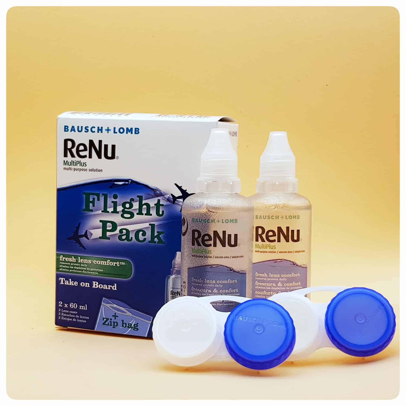 ReNu Multiplus Flight Pack 2x60ml